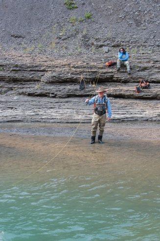 Fly Fishing the Sheep River, Alberta